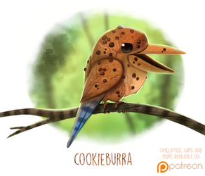 Daily Paint 1506. Cookieburra by Cryptid-Creations