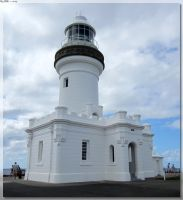 Cape Byron Lighthouse - New Paint by JohnK222
