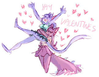 belated valentine by pumpkinuffin