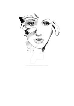 Christina Aguilera WIP 1 by sinthiavalesquez