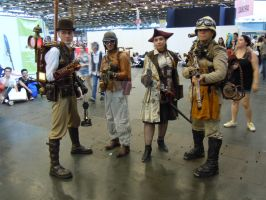 Groupe steampunk by castor227027