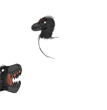 Don'tstarve-osaurs - Raptor [WIP] by T-rexHunter2000