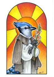 Saint Azul by ursulav