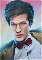 Eleventh Doctor by DavidDeb