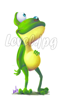 Frog by LEVELtoons