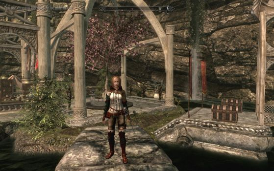 Skyrim Shanna in Cavern Isles home by danbuter