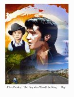 Elvis presley. The boy who would be king by artofflay