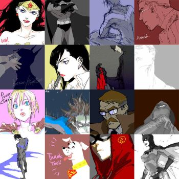 DC DOODLES 2008 by 89g