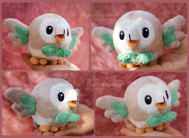 Rowlet - Plush Pattern for sale by Piquipauparro