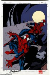 Spider-Girl and Spider-Man by Mark Bagley by NewtypeS3