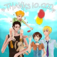 THX10.000hits:Ouran: by Yishuu