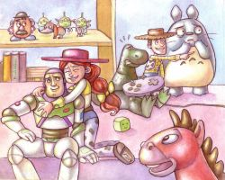 Toy Story by Gigei