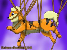 Tangled Growlithe