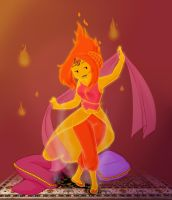 Flame Princess by VanillyCake