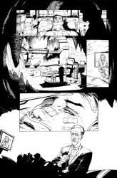 Arkham Knight 31 page 7 Vik and Rich by Blasterkid