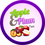 Swingin Apple Plum Tart by Echilon