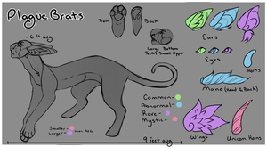 Plague Brat Closed Species Reference by CaptnElle