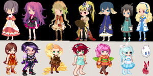 dream selfy and gaia online free adoption [ OPEN] by sweetadops