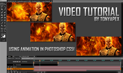 Photoshop Cs5 Video Tutorial: Working w/Animation! by TonyApex