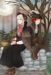 Plain Doll and the Good Hunter by StarletHeaven