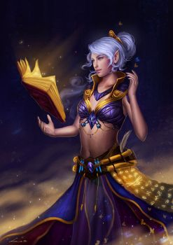 Gift: Caster of Spells by Zolaida
