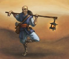 Monk by AgarthanGuide