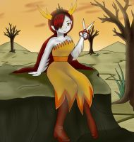 hekapoo fanart (star vs the forces of evil) by focusb