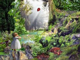 The Red Balloon by LindArtz
