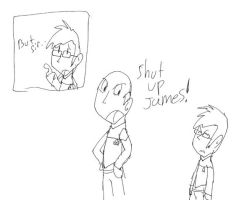 Shut Up James by Jim-Nickabocker