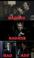 BBC Sherlock: Team Badass by DragonfireXAgent