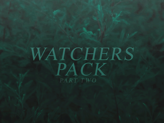 500 Watchers Pack | Part Two by SugarRush19