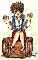 Colored Bilbo by BlankInSpace