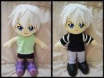 Killua Plushie by renealexa-plushie