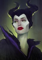Maleficent by sscindyss