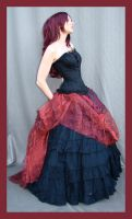Red And Black 9 by Lisajen-stock