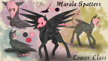 Spatters {Reference Sheet+ Bio} by ScarletsFeed