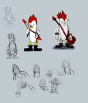 Sharps the Chicken reference by Missplayer30