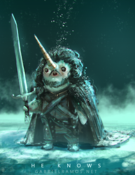 Narwhal Snow by GabeRamos