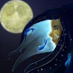 Moon by Arenja