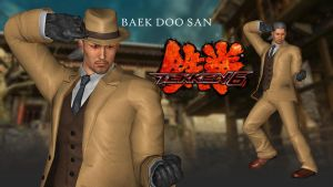 TEKKEN 6 - Baek Doo San (2P) - XPS Download by Pedro-Croft