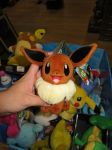 New Tomy Eevee plushie variation! by ryanthescooterguy