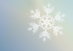Snowflake - Xmas card design by Starsong-Studio