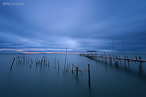 Old Pier by Rykardo