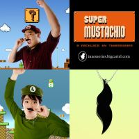 Tuxessories: Super Mustachio by behindinfinity