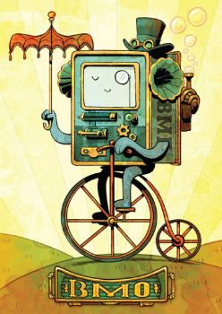 steampunk bmo by BrianKesinger