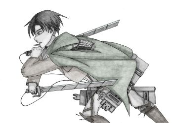 Attack on Titan - Levi by CaptainGhostly