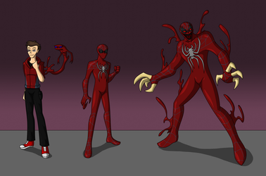 The Crimson Spider by AraghenXD