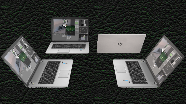 [MMD DL] 17'' HP Laptop by Maddoktor2
