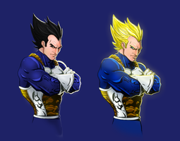 Vegeta by Jonny5Alves