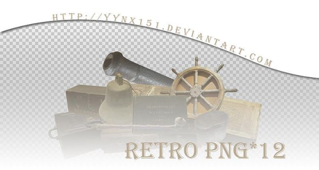 Retro png pack #10 by yynx151